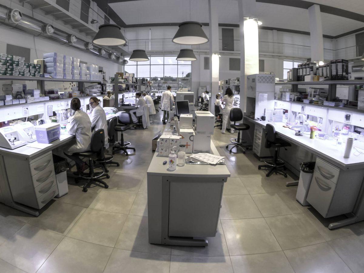 Foto: Laboratorio de Igenomix en Paterna. (Valencia)