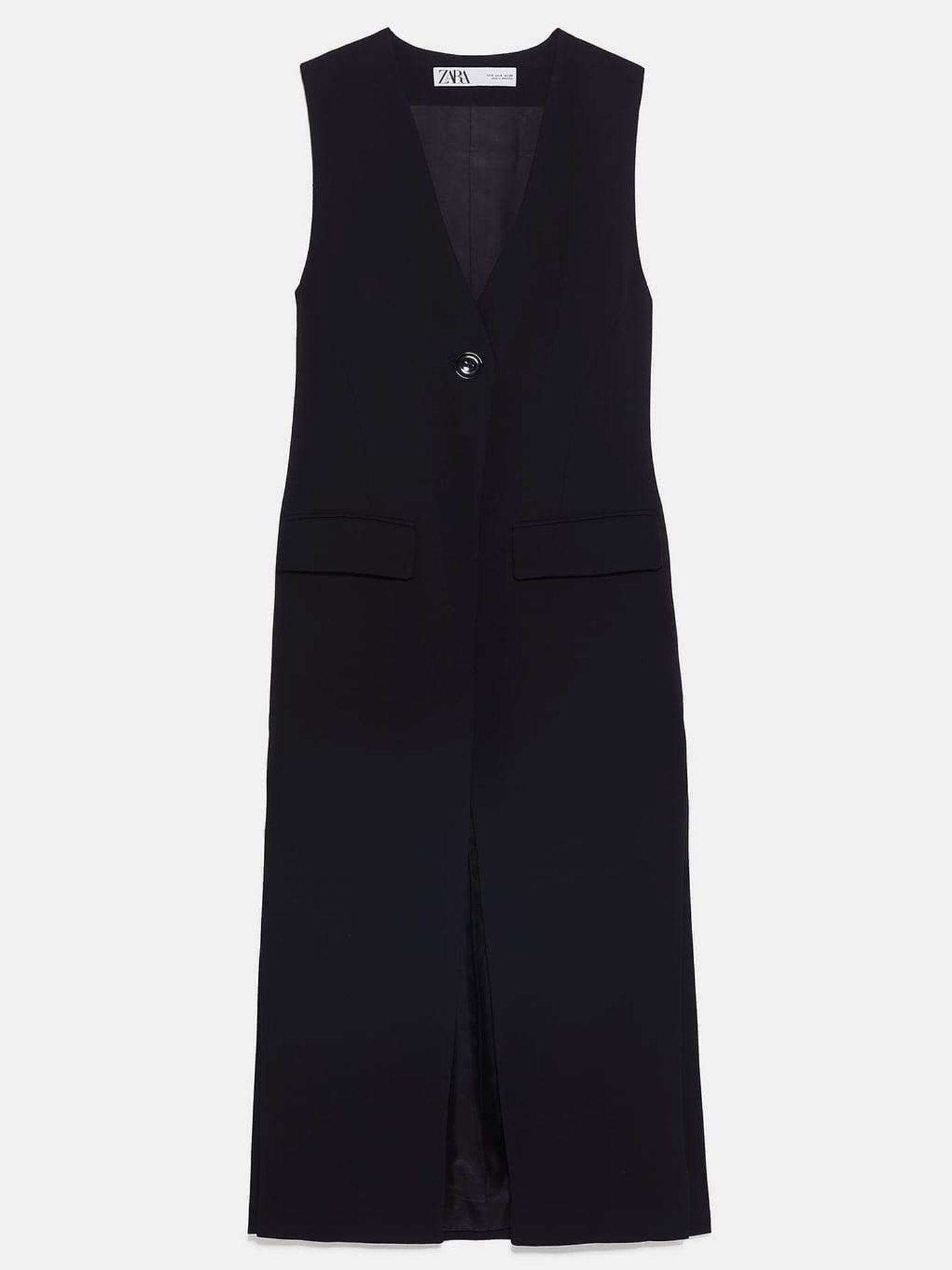 Chaleco de Zara. (49,95€)