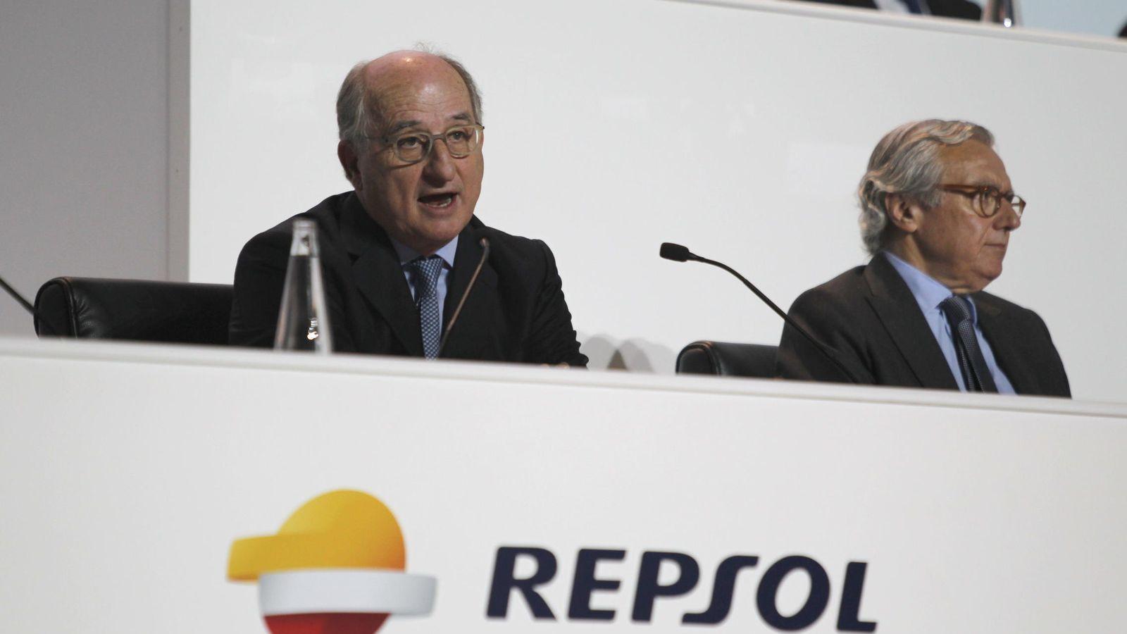 Foto: Presidente de Repsol, Antonio Brufau (Efe)