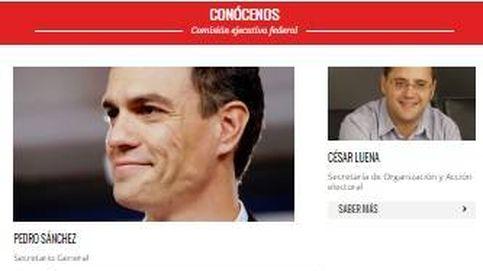 El PSOE elimina de su página web a los 17 críticos que han dimitido
