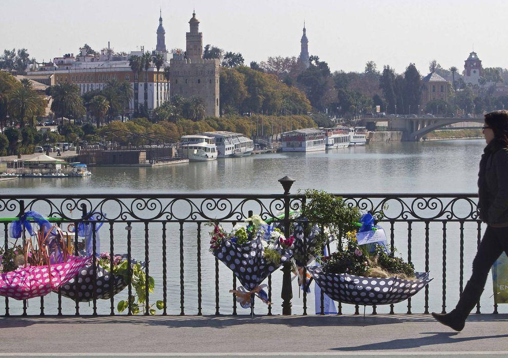 Foto: El río Guadalquivir a su paso por Sevilla (EFE)