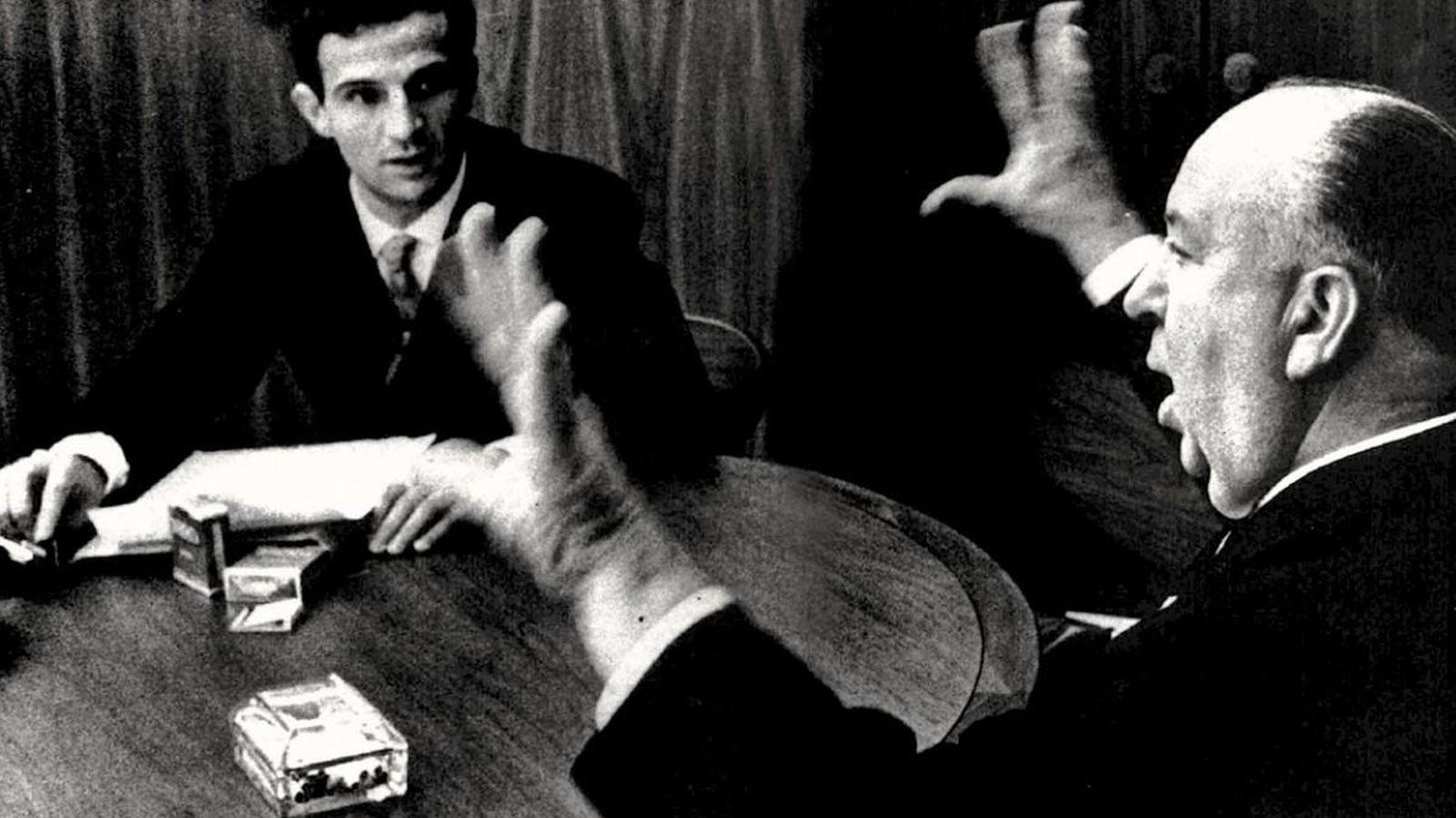 Foto: Truffaut y Hitchcock, duelo de titanes