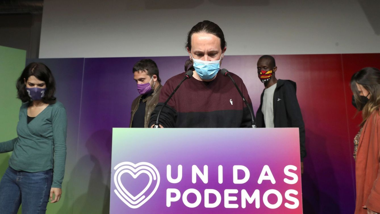 Foto: El líder de Unidas Podemos y candidato a la presidencia de la Comunidad de Madrid, Pablo Iglesias. (EFE)
