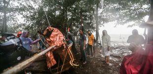 Post de La tormenta 'Pabuk' golpea Tailandia: un muerto y 6.000 personas evacuadas