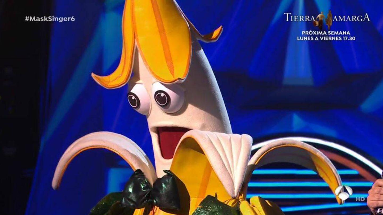 'Plátano', en 'Mask Singer'. (Atresmedia Televisión)
