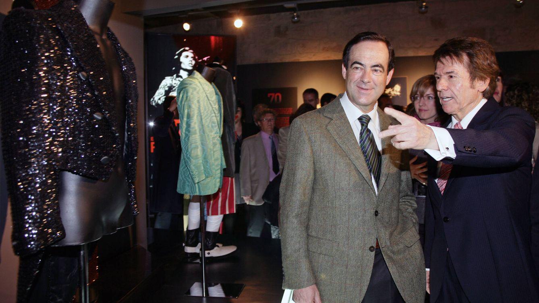 Foto: El político José Bono y el cantante Raphael en una imagen de archivo (Gtres)