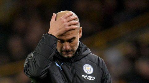 Pep Guardiola toca fondo en el Manchester City sin posesión