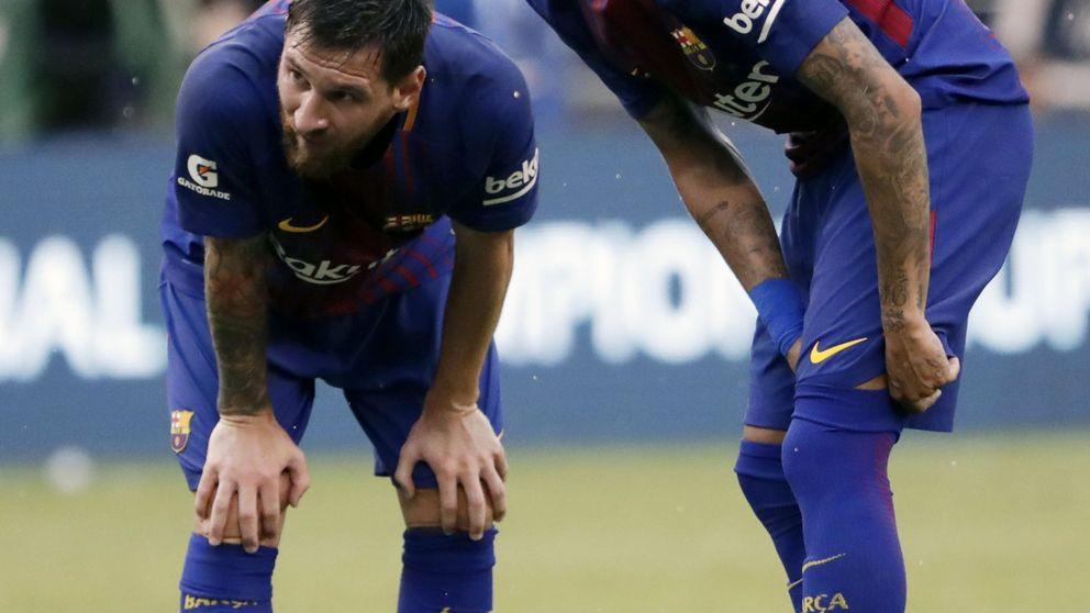 Neymar marea la perdiz en el Barcelona y Piqué se mete en el culebrón