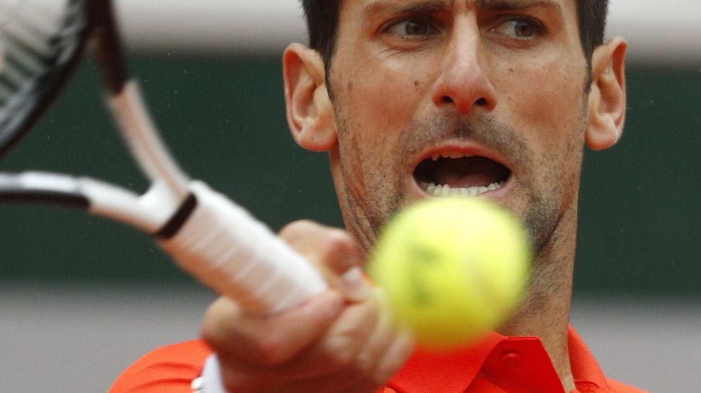 Foto: Novak Djokovic en la presente edición de Roland Garros. (Reuters)