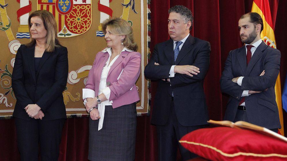 Foto: Juan Pablo Riesgo, a la derecha, en una imagen de archivo (EFE)