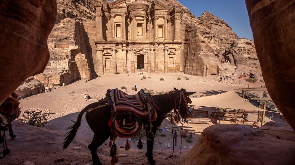 Foto: El Monasterio es una de las partes más importantes de Petra, en Jordania (EFE EPA/Andre Pain)