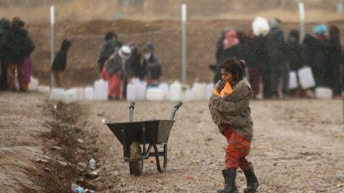 El invierno de los refugiados de guerra