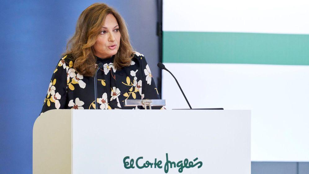Foto: La presidenta de El Corte Inglés, Marta Álvarez, en un acto. (EFE)
