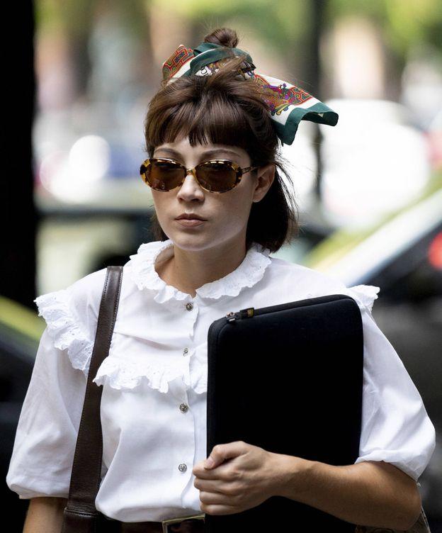 Foto: Liarse el pañuelo a la cabeza con el tema de la sostenibilidad es importante. (Imaxtree)