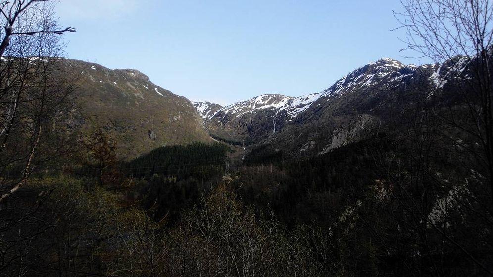 Foto: Montañas de Isdalen, en Noruega, donde se produjo el asesinato. (CC)