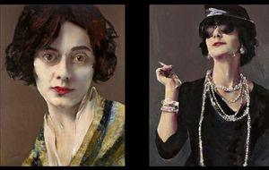 Foto: Coco Chanel, bajo el pincel de Lita Cabellut