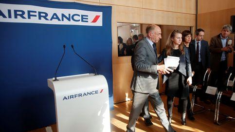 Air France se hunde tras la dimisión de su CEO y ya cae un 75% desde diciembre