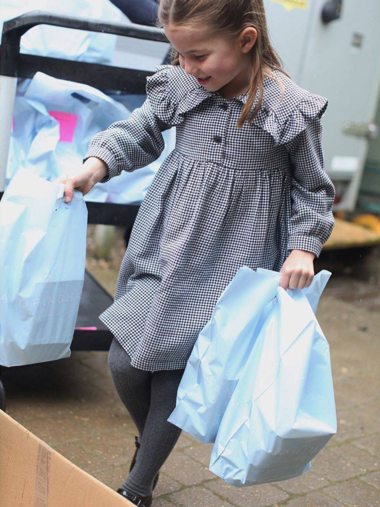 La pequeña princesa. (Kensington Palace)
