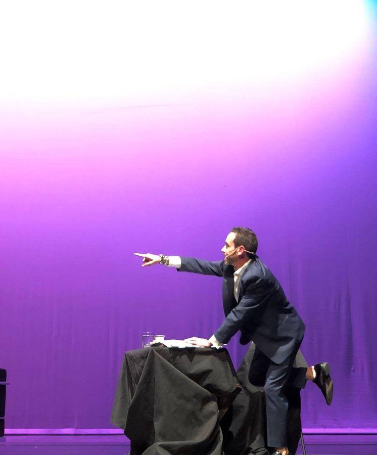 Foto: Un momento de la obra 'Casualidades (en verso)'.
