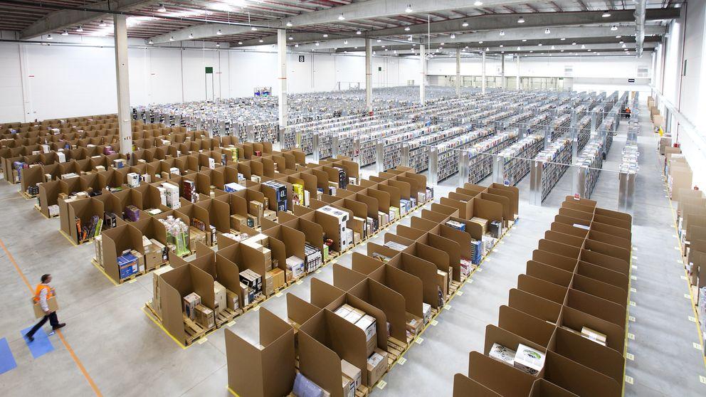 Precarios temporales: la baza secreta de Amazon para hacer descarrilar la huelga