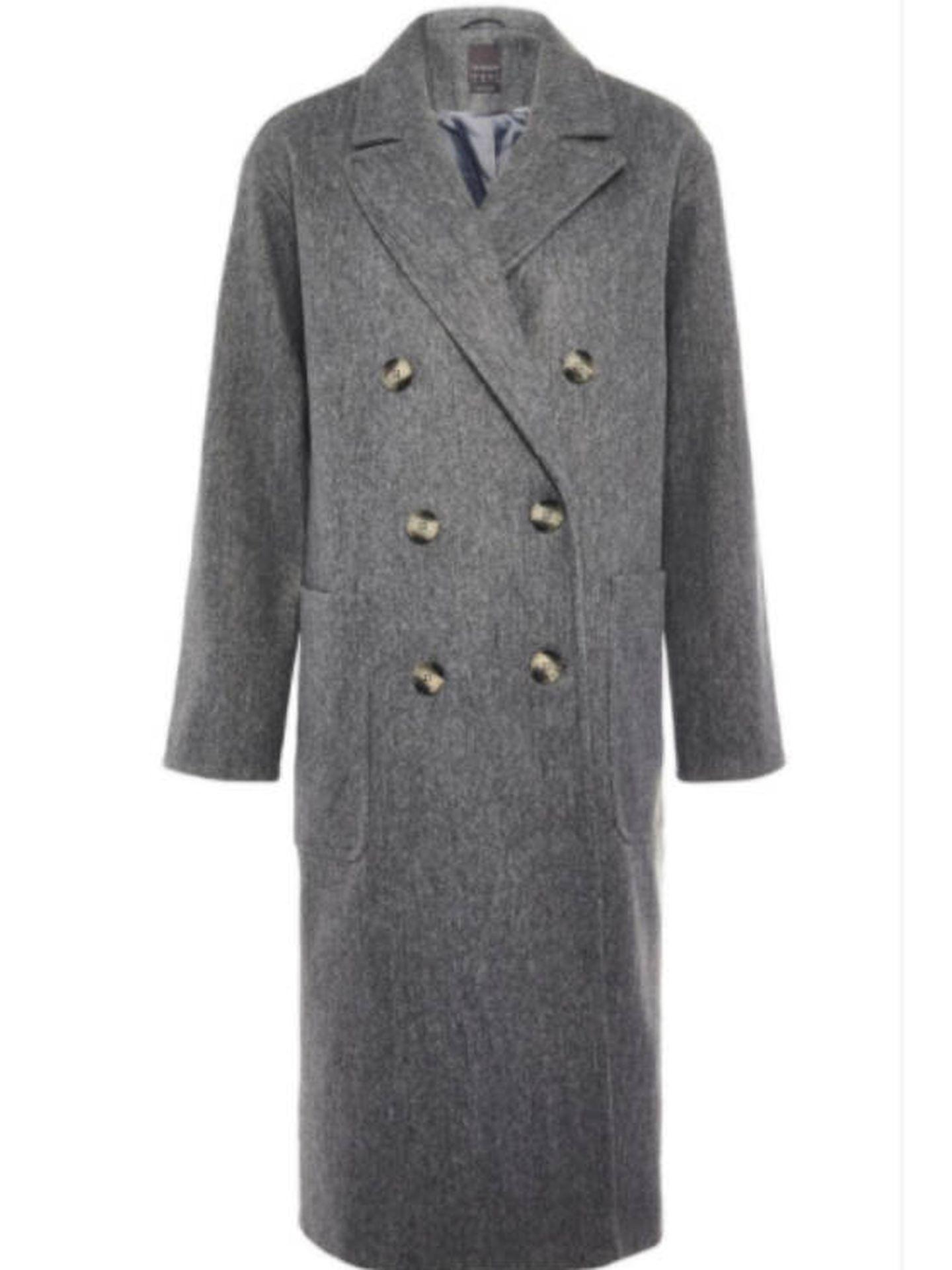 El abrigo de Primark. (Cortesía)