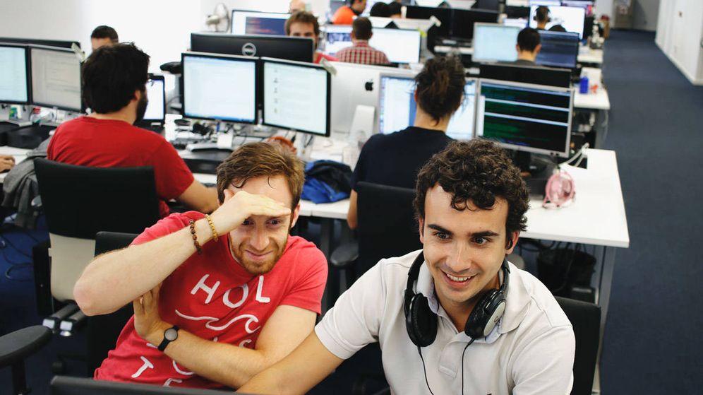 Foto: Empleados de Idealista, en su sede en Madrid. (Foto: Idealista)