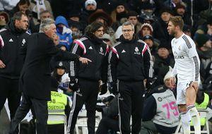 Ancelotti confirma que Ramos se perderá 5 semanas, pero confía en Varane y Nacho