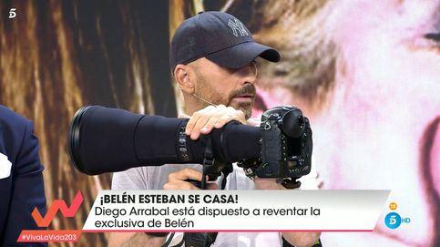 Diego Arrabal amenaza a Belén Esteban con reventar la exclusiva de su boda