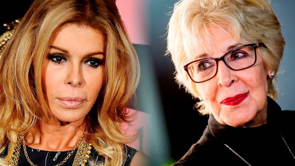 Foto: Concha velasco y Bibiana Fernández. (Getty)
