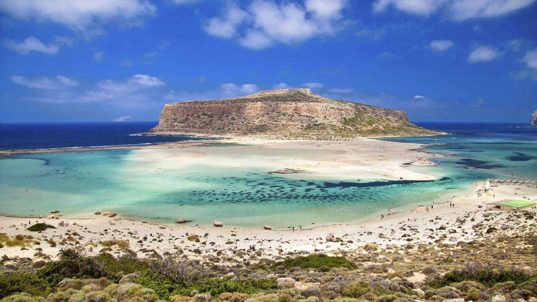 Playa de Balos, en Creta.