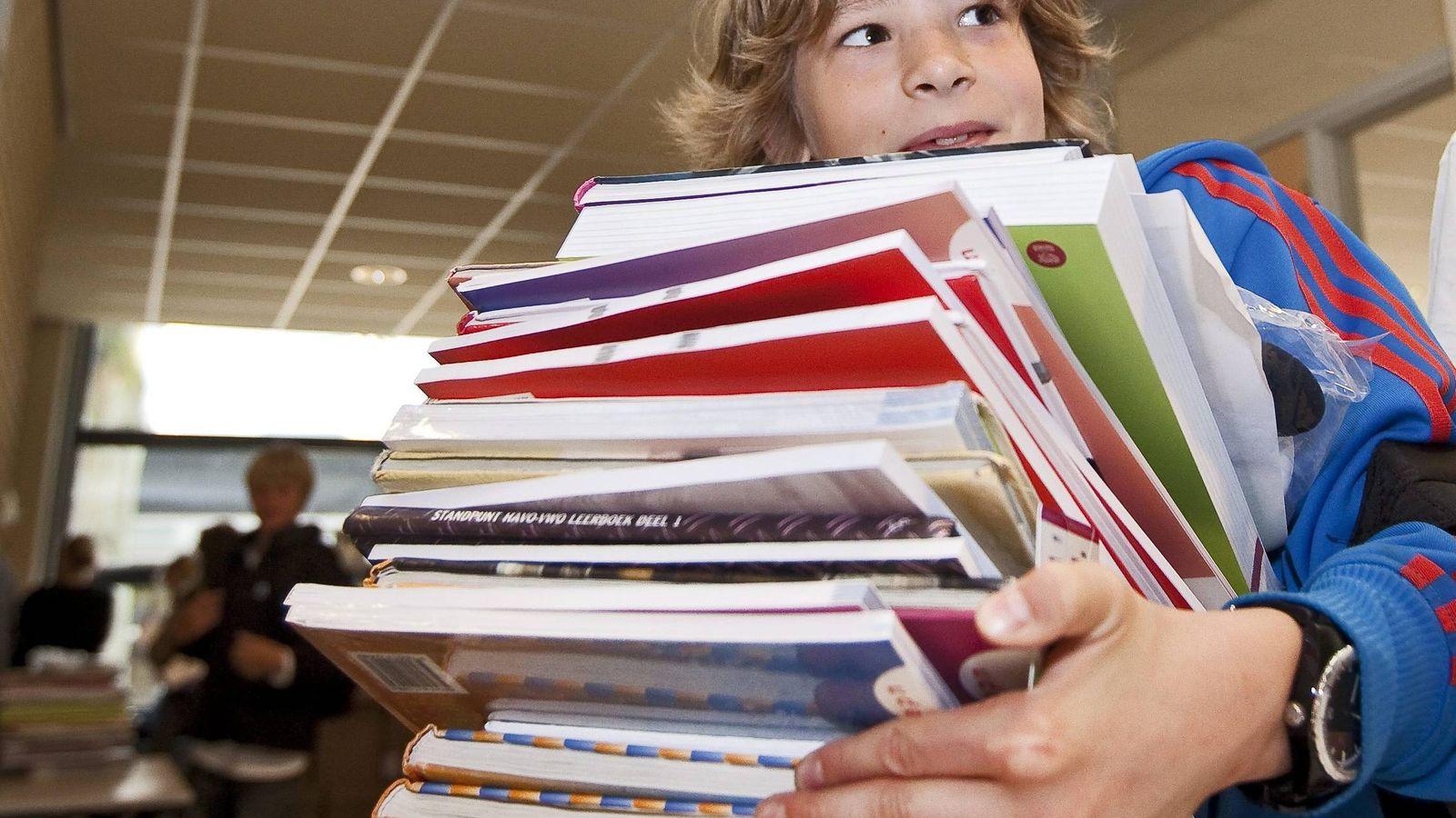Foto: Este curso escolar los libros de cada niño costarán una media de 200 euros. (EFE)