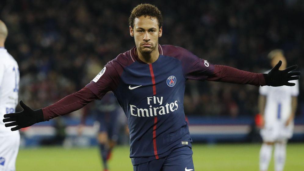 Foto: Neymar lleva 15 goles en 16 partidos con el PSG esta temporada. (EFE)