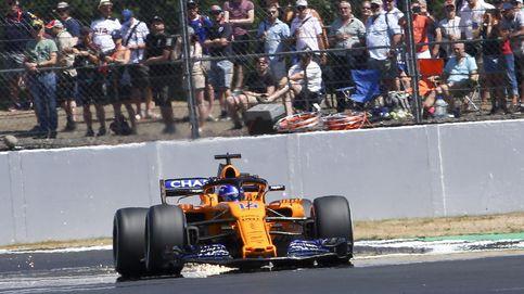 Clasificación del GP de Gran Bretaña en directo: Alonso y Sainz con confianza