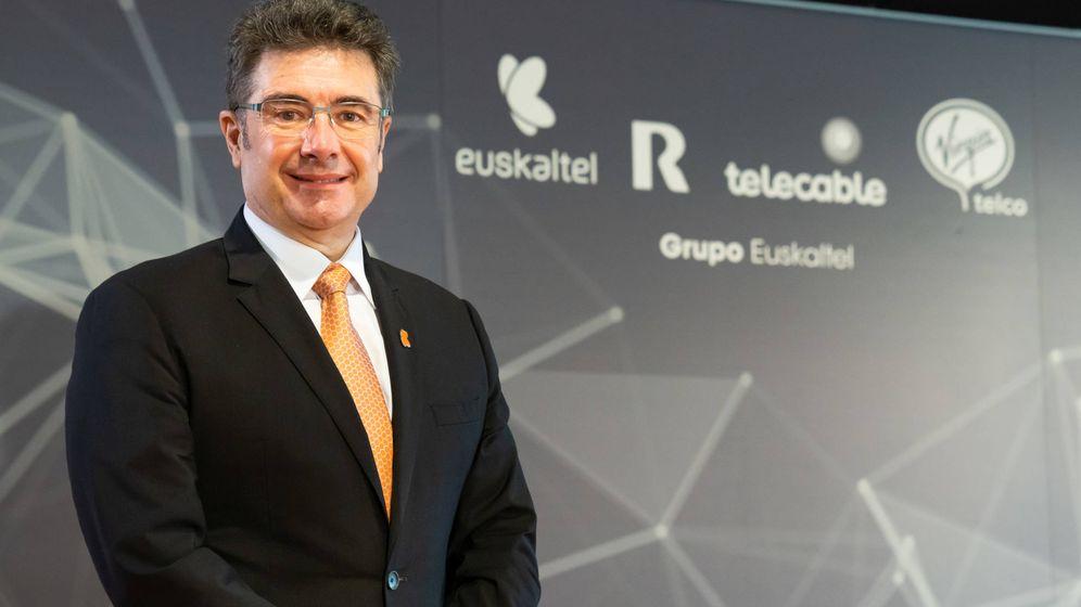 Foto: José Miguel García es el CEO del Grupo Euskaltel.