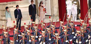 Post de El recibimiento de los Reyes al presidente de Corea y su esposa: todas las imágenes