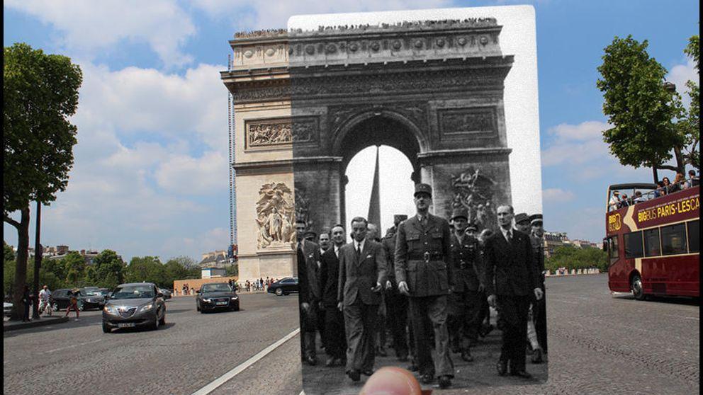 París revive su liberación 70 años después