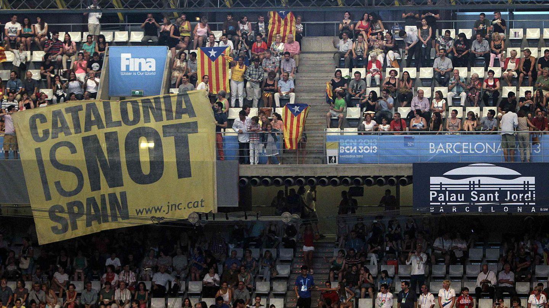 Ceremonia inaugural del los Mundiales de Natación Barcelona 2013