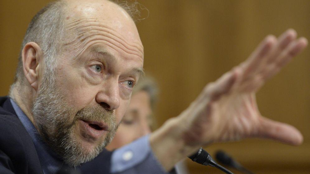 Foto: El investigador pionero del cambio climático James Hansen. (EFE)