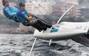 Adiós a una opción de medalla en vela: Martínez y Pacheco se retiran