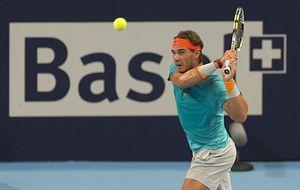 A la tercera va la vencida: Nadal pasa de primera ronda en Basilea