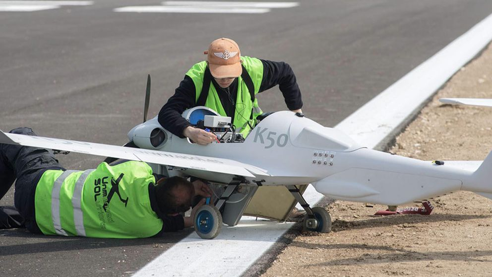 Inaugurado en Jaén el primer centro de ensayo con aviones no tripulados