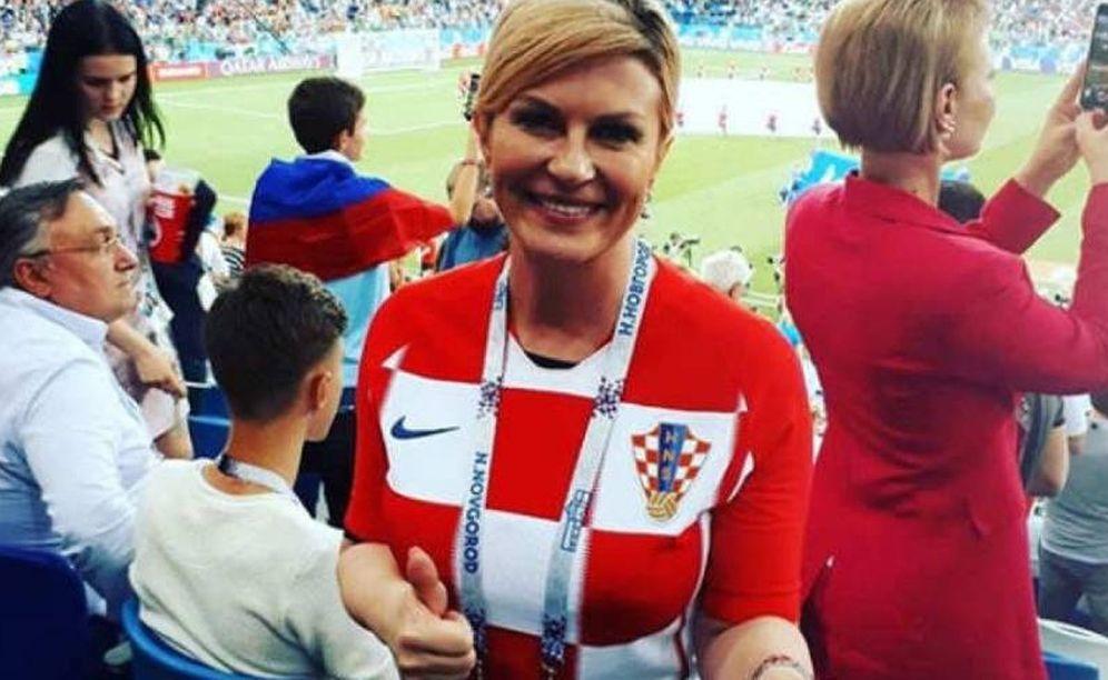 Foto: La presidenta de Croacia, Kolinda Grabar-Kitarović.