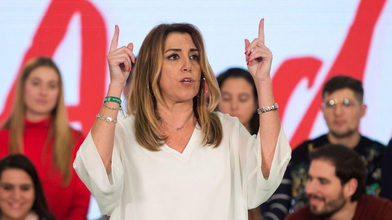 Foto: Susana Díaz pide al resto de partidos parar a la extrema derecha. (EFE)
