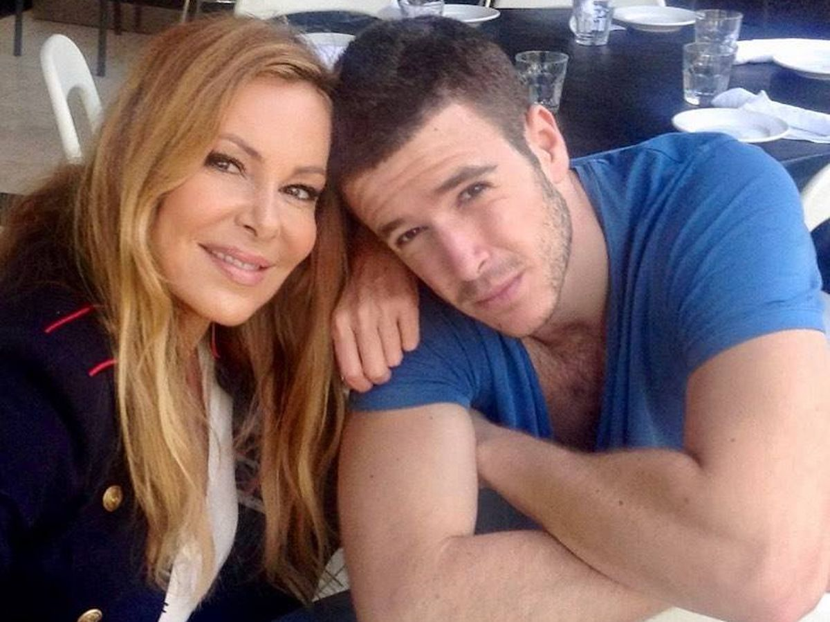 Foto: Ana Obregón y su hijo Álex. (Redes)