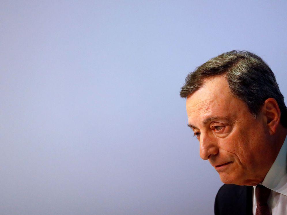 Foto: El presidente del BCE, Mario Draghi, en una comparecencia. (Reuters)