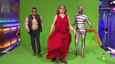 Berto Romero se disfraza de Edurne para la parodia de 'Amanecer'