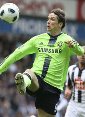 El Chelsea golea pero Torres no consigue romper su sequía particular