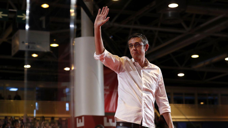 Foto: El diputado Edu Madina, el pasado 26 de marzo, en el acto de presentación de la candidatura de Susana Díaz. (EFE)
