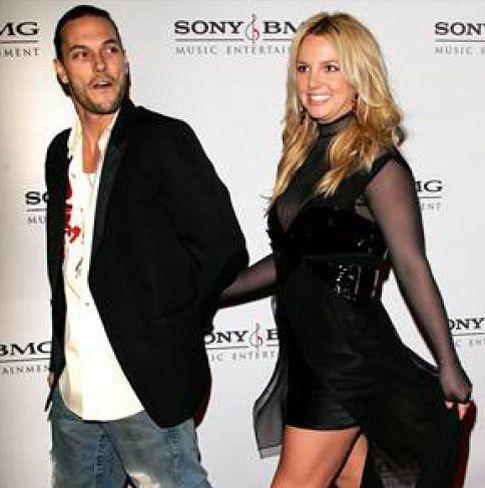 Foto: Kevin Federline y Britney Spears ya son ex marido y ex mujer