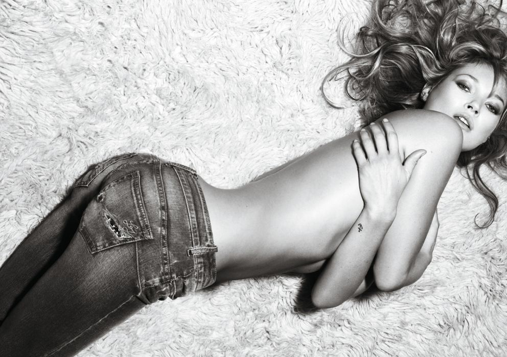 Foto: Kate Moss en la campaña de Liu Jo 2009